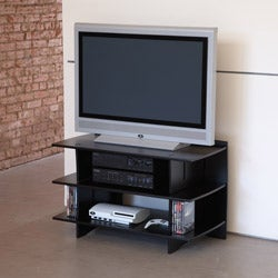 Legare Reversible Titanium/Black Media Stand