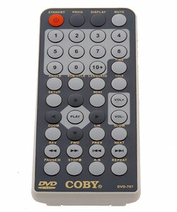 Coby DVD-707 Portable 12V Compact DVD Player