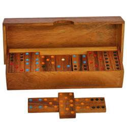 Wood Dominoes Game (Thailand)