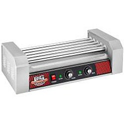 Big Dawg Commercial 5-roller Hot Dog Machine with Cover