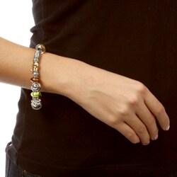 Sterling Essentials Sterling Silver Safari Theme Bracelet