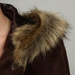 Donnybrook Women's Single Breasted Faux Fur Coat
