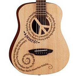 Luna Safari Travel Peace Design 3/4 Guitar