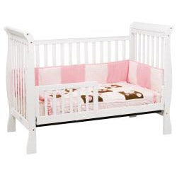 DaVinci Jamie 4-in-1 Crib in White