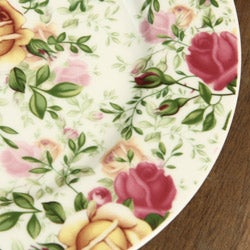 Royal Albert 4-piece Country Rose Chintz Dessert Plates