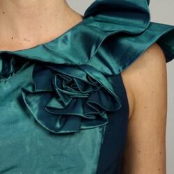 Jessica Simpson Women's One-shoulder Rosette Dress FINAL SALE