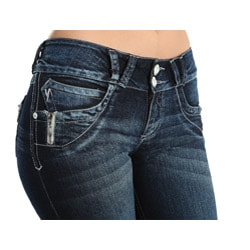 Circe Brazilian Style Stretch Push-up Jeans