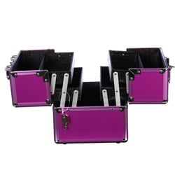 Soho Purple Eye Pop Beauty Case