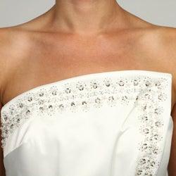 Eliza J Women's Strapless Faux Wrap Dress