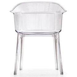 Verona Transparent Dining Chairs (Set of 4)