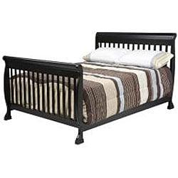 DaVinci Kalani 4-in-1 Crib with Toddler Rail in Ebony