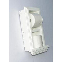 In The Wall Toilet Paper Holder Plus Storage