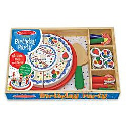 Melissa & Doug Birthday Party Play Set