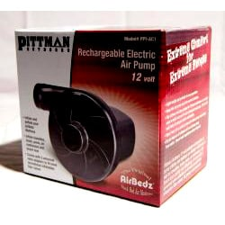 Rechargeable Air Pump with Home Charger
