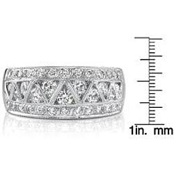 18k White Gold 1 1/8ct TDW Diamond Band (I, SI1)