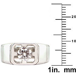 18k Gold 1ct TDW Certified Clarity-Enhanced Diamond Engagement Ring (G, SI1)
