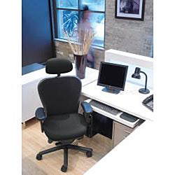 CXO Heavy Duty Mid Back Office Chair with Headrest
