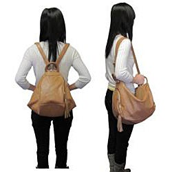Amerileather Willow Mini Leather Backpack