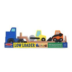 Melissa & Doug Low Loader Vehicle