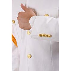 Ferrecci Men's 'Cadet Uniform' White Suit