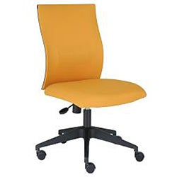 J & K Orange Curve Task Chair