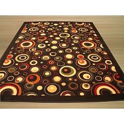 Cosmo Black Rug (7'10 x 9'10)