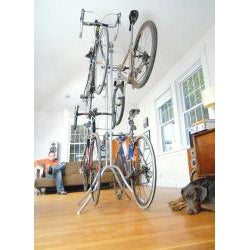 Botticelli Free-standing Four-capacity Steel Bike Storage Rack