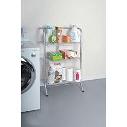 The Art of Storage Silver 3-tier Deluxe Gravity Shelf
