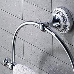 Kraus Apollo Bathroom Accessories- Towel Ring Chrome