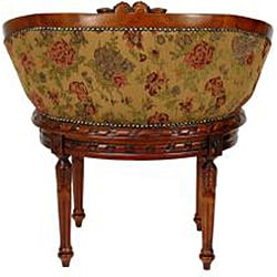 Ochre Flowers 'Queen Mary' Parlor Chair (China)