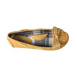 Refresh by Beston Women's 'ALLEN-02' Yellow Fringed Flats