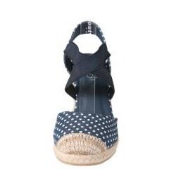 Refresh by Beston Women's 'ADA-02' Fabric Wedges
