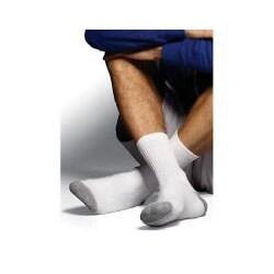 Hanes Classics Men's White Crew Socks (Pack of 6)