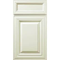 Wall Diagonal Door Antique White Cabinet