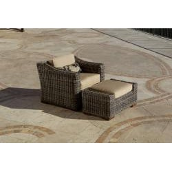 RST Resort Collection Outdoor Left Side 48-inch Sofa End