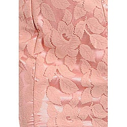 Stanzino Women's Dusty Pink Belted Halter Dress