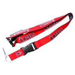 Los Angeles Angels Reversible Lanyard Keychain Ticket ID Holder