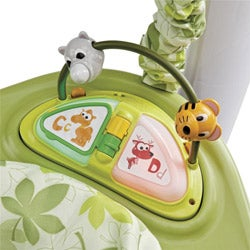 Evenflo Exersaucer Jump and Learn Stationary Jumper in Safari Friends