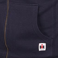 Farmall IH Men's Navy Sherpa Lined Hoodie
