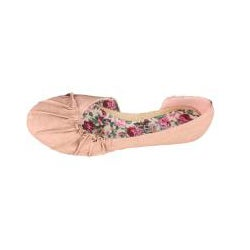 Neway by Beston 'Pansy-02' Women's Pink Ballet Flats