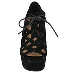 Neway by Beston Women's 'Adela' Wedge Sandals
