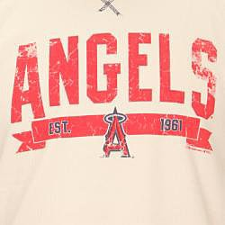 Stitches Men's Anaheim Angels Raglan Thermal Shirt