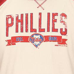 Stitches Men's Philadelphia Phillies Raglan Thermal Shirt