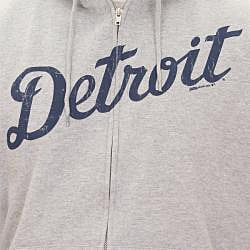 Stitches Men's Detroit Tigers Full Zip Hoodie