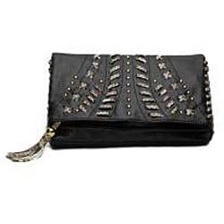 Danielle Nicole Tassel Clutch Bag