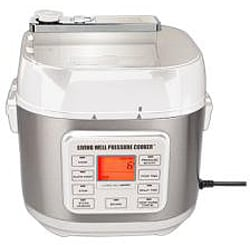 Montel Williams Living Well 5-quart Stainless Steel Pressure Cooker