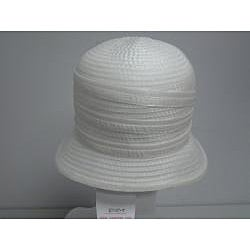 Swan Women's Ivory Organza Crushable Bucket Hat