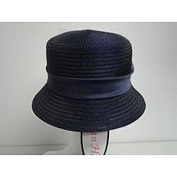 Swan Women's Navy Organza Crushable Bucket Hat