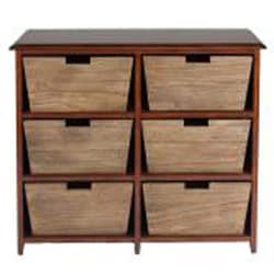 La Jolla 6 Drawer Console