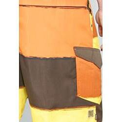 Zonal Men's 'Transporter E-board' Orange Swim Shorts